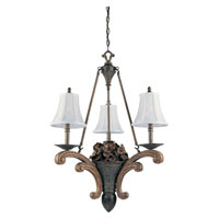 Triarch Maxfield 3 Light Chandelier 21012
