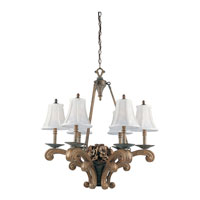 Triarch Maxfield 6 Light Chandelier 21013