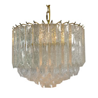 Triarch Signature 4 Light Chandelier in Brass 24423