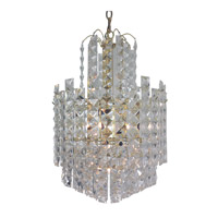 Triarch Signature 6 Light Chandelier in Brass 24437