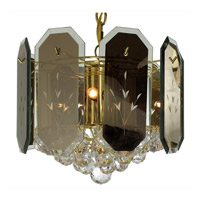 Triarch Industries Signature 7 Light Chandelier in Polished Brass 25031