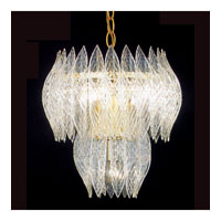 Triarch Kerchief Chandelier in Brass Plated Frame 26202H-BR