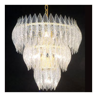 Triarch Kerchief Chandelier in Brass Plated Frame 26204-BR