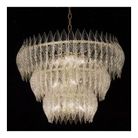 Triarch Kerchief Chandelier in Brass Plated Frame 26205-BR