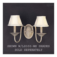 Triarch Regal 2 Light Sconce in Crackle Silver 29300/2-CS