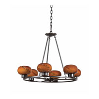 Triarch Atomique 6 Light Chandelier in Oil Rubbed Bronze 29473-BZ