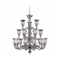 Triarch Industries Regency 21 Light Chandelier in Pewter Plated 29584-PWT