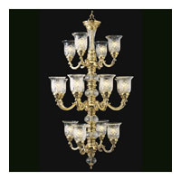 Triarch Industries Regency 16 Light Chandelier in 24 Karat Gold Plated 29585-GOLD