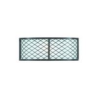Triarch Industries Chainlink 1 Light Wall Sconce in Bronze with White Frosted Glass 31570/1
