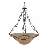 Triarch Industries Whisper 6 Light Pendant in Blacksmith Bronze 31602-34
