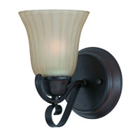Triarch Industries Value Series 270 1 Light Wall Sconce in Bronze with Tea Tinted Glass 33270/1