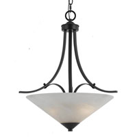Triarch Value Series 310 3 Light Pendant in English Bronze 33312