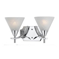 Triarch Value Series 320 2 Light Bath Light in Chrome 33320/2