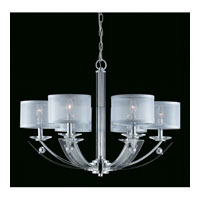 Triarch Aurora 6 Light Chandelier in Chrome 39423