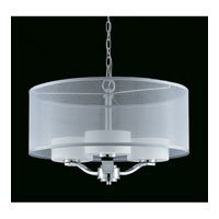 Triarch Industries Solstice 4 Light Pendant in Chrome with Acrylic Accents 39432