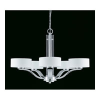 Triarch Industries Solstice 5 Light Chandelier in Chrome with Acrylic Accents 39433