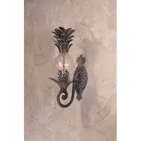 Triarch Industries Maui 2 Light Outdoor Post Mount in English Bronze with Clear Pineapple Glass 75100-11