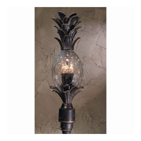Triarch Industries Maui 4 Light Outdoor Post Mount in English Bronze with Clear Pineapple Glass 75106-11