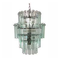 Triarch Signature 10 Light Chandelier in Chrome 80006-CLR