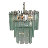 Triarch Signature 4 Light Chandelier in Chrome 80008-CLR