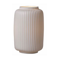 Triarch Industries Porcelaino 1 Light Uplight Table Lamp in Porcelain 80081