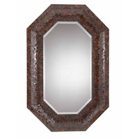 Triarch Industries Jewelry Mirror in Harvest Bronze with Mosaic Glass MR31441