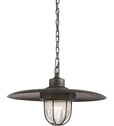 Troy Lighting F3897 Acme 1 Light 22 inch Aged Silver Pendant Ceiling Light in Incandescent photo