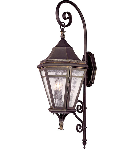 Troy Lighting B1272NR Morgan Hill 3 Light 38 inch Natural Rust Outdoor Wall Lantern photo