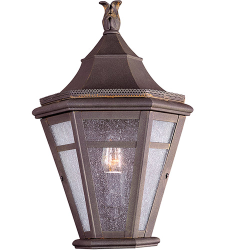 Troy Lighting B1278NR Morgan Hill 1 Light 16 inch Natural Rust Outdoor Pocket Lantern photo