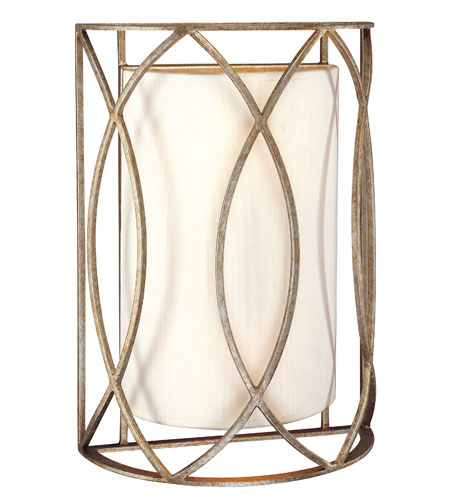 Troy Lighting B1289SG Sausalito 2 Light 10 inch Silver Gold Wall Sconce Wall Light photo