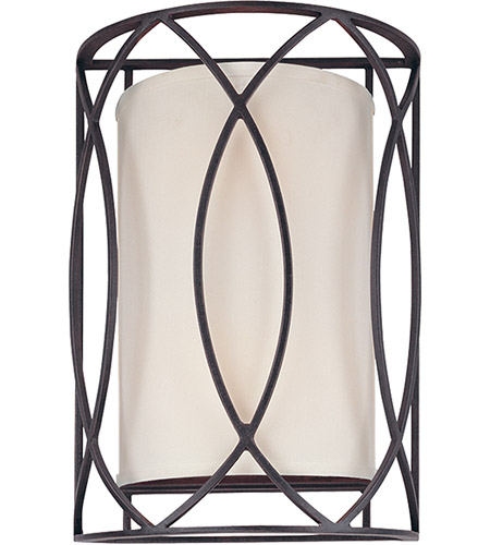 Troy Lighting Sausalito 2 Light Wall Sconce in Deep Bronze B1289DB photo