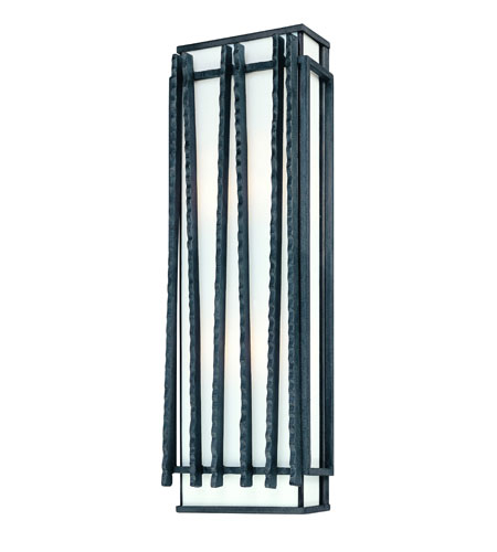 Troy Lighting Zen 4 Light Outdoor Wall Lantern in Forged Iron B1313FI photo