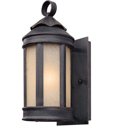 Troy Lighting Andersons Forge 1 Light Outdoor Wall Lantern in Aged Iron B1460AI photo
