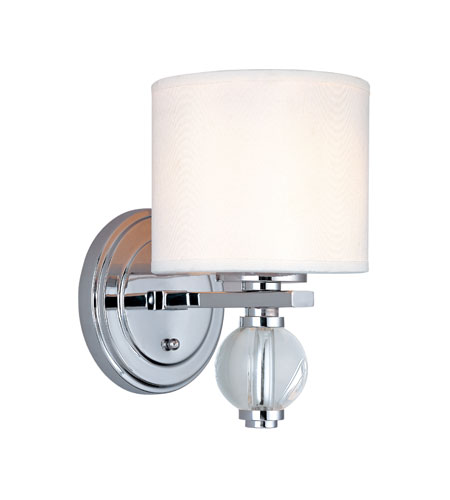 Troy Lighting Bentley 1 Light Wall Sconce in Polish Chrome B1580PC photo