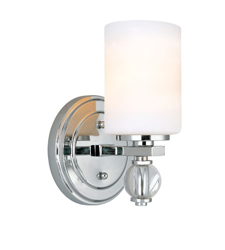 Troy Lighting B1581PC Bentley 1 Light 6 inch Polish Chrome Bath Vanity Wall Light photo