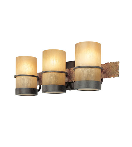 Troy Lighting B1843BB Bamboo 3 Light 22 inch Bamboo Bronze Bath Vanity Wall Light photo