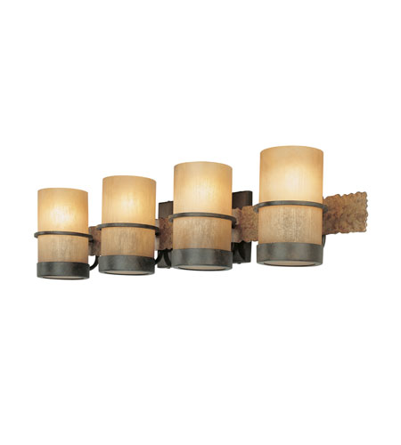 Troy Lighting B1844BB Bamboo 4 Light 30 inch Bamboo Bronze Bath Vanity Wall Light photo