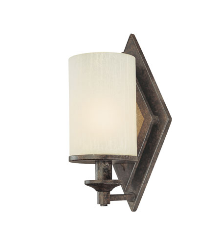 Troy Lighting Harlequin 1 Light Wall Sconce in Harlequin Bronze B1991HB photo