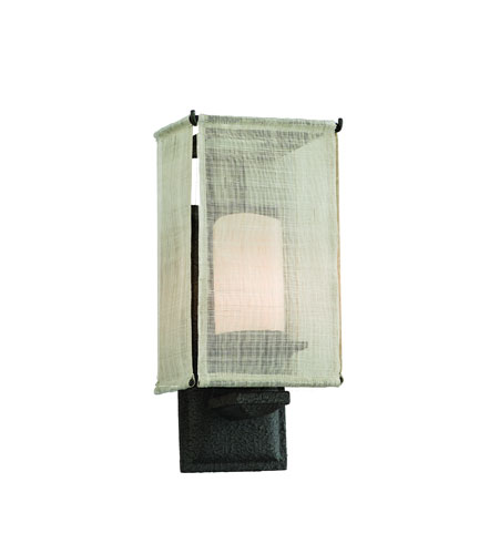 Troy Lighting Raffia 1 Light Wall Sconce in Weathered Bark B2201WB photo