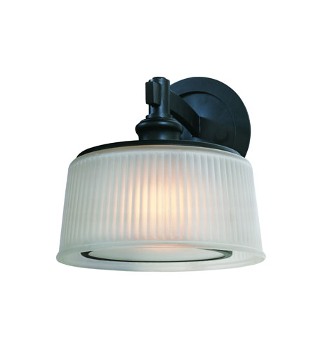 Troy Lighting Finley 1 Light Sconce in Federal Black B2231FBK photo
