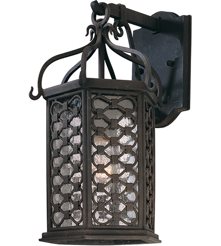 Troy Lighting Los Olivos 1 Light Outdoor Wall in Old Iron B2372OI photo