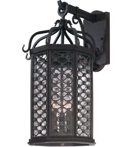 Troy Lighting Los Olivos 3 Light Outdoor Wall in Old Iron B2373OI photo