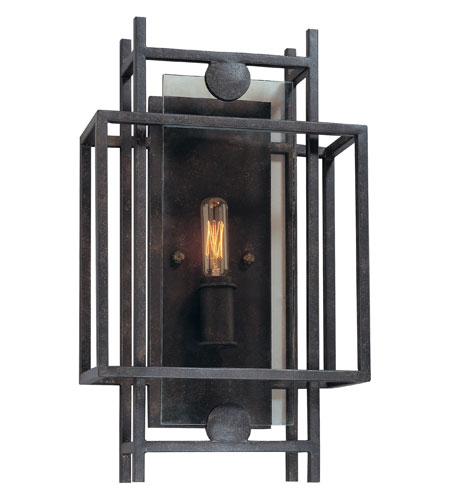 Troy Lighting B2491FI Crosby 1 Light 10 inch French Iron ADA Wall Sconce Wall Light photo