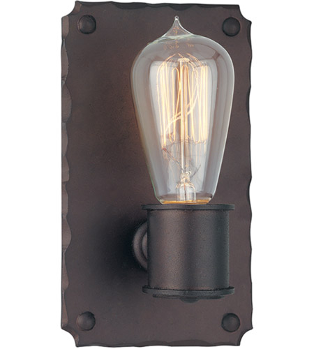 Troy Lighting B2501CB Jackson 1 Light 5 inch Copper Bronze ADA Wall Sconce Wall Light photo