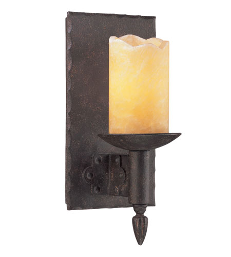 Troy Lighting B2581 Academy 1 Light 5 inch Weathered Rust Wall Sconce Wall Light photo