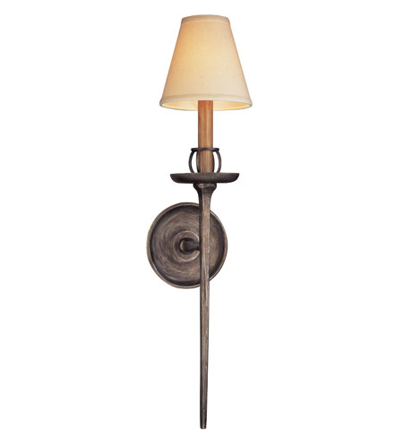 Troy Lighting B2701 Owen 1 Light 6 inch Pompeii Silver Wall Sconce Wall Light photo