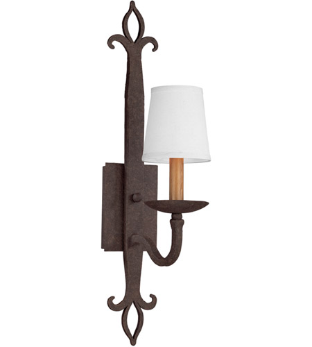 Troy Lighting B2711 Lyon 1 Light 5 inch Burnt Sienna Wall Sconce Wall Light photo