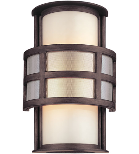 Troy Lighting B2731 Discus 1 Light 10 inch Graphite Outdoor Wall photo