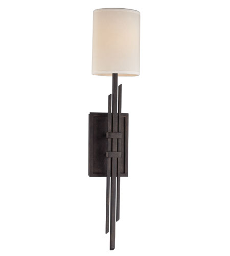 Troy Lighting Kendo 1 Light Wall Sconce in Kendo Bronze B2764 photo
