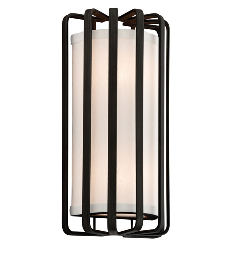 Troy Lighting Drum 2 Light Wall Sconce in Bronze B2811BZ-I photo